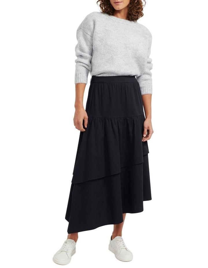 Zaria Ruffled Midi Skirt image 1