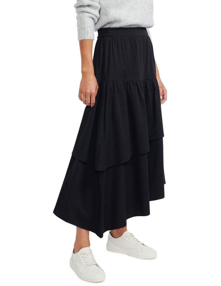 Zaria Ruffled Midi Skirt image 2