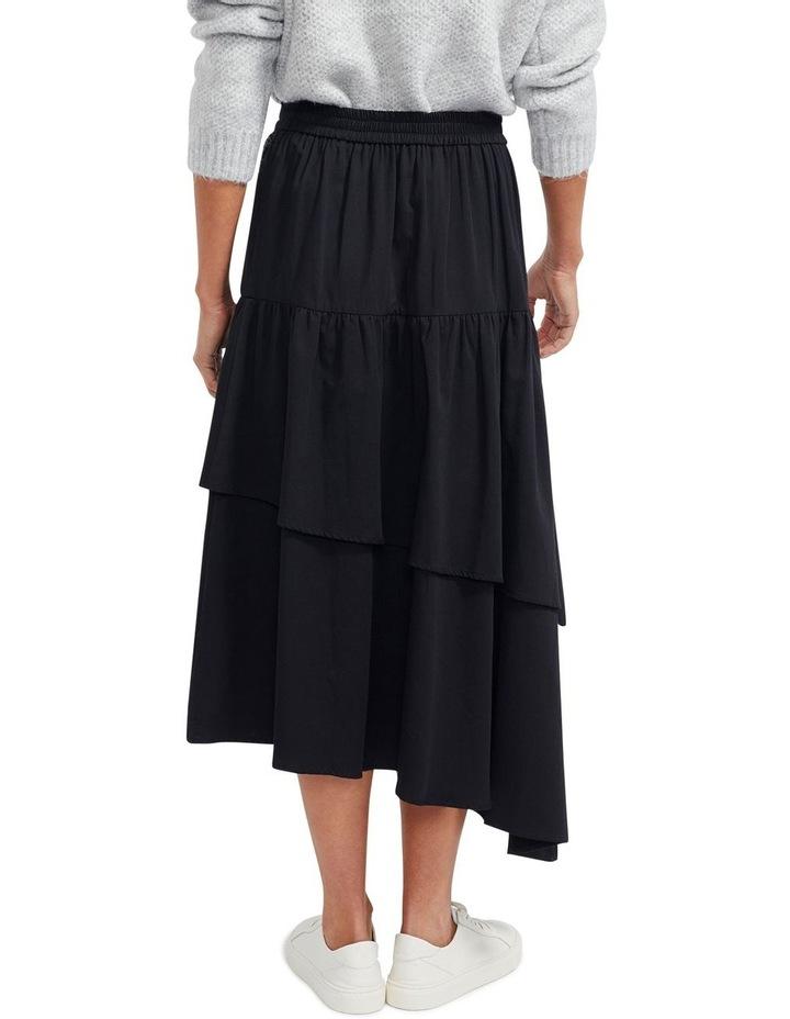 Zaria Ruffled Midi Skirt image 3