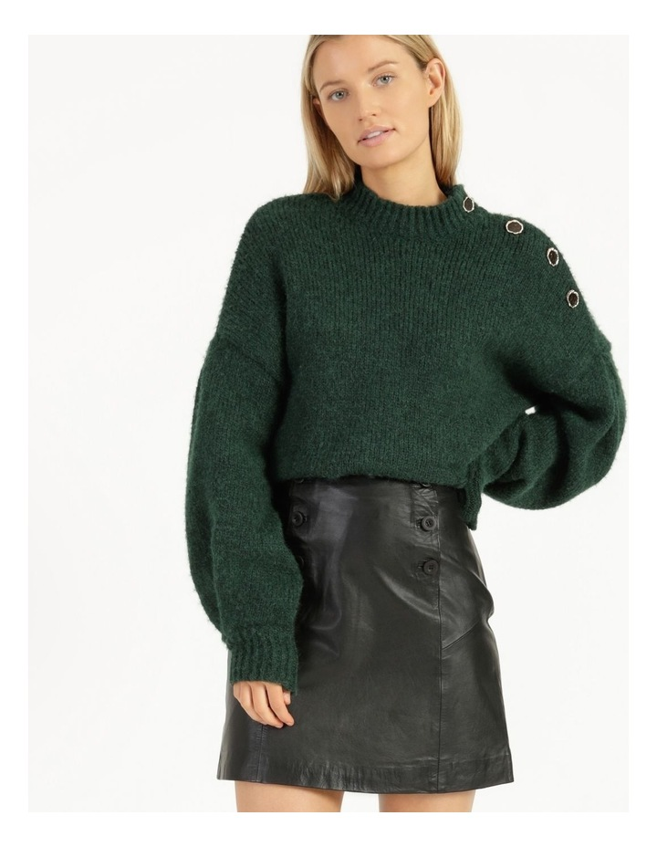 Trivial Leather Skirt image 1