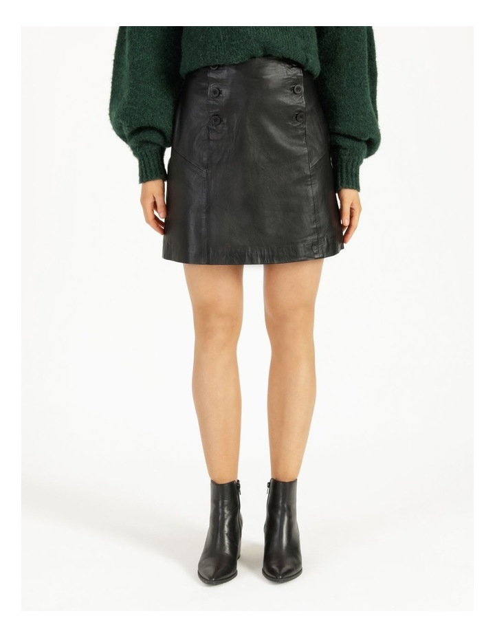 Trivial Leather Skirt image 2