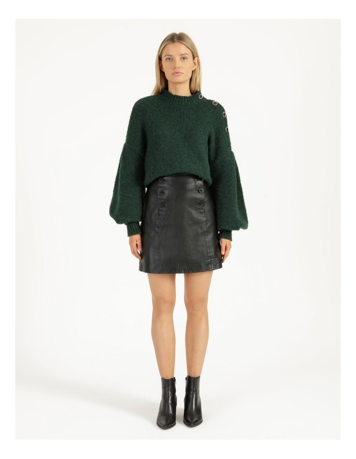 Trivial Leather Skirt image 3