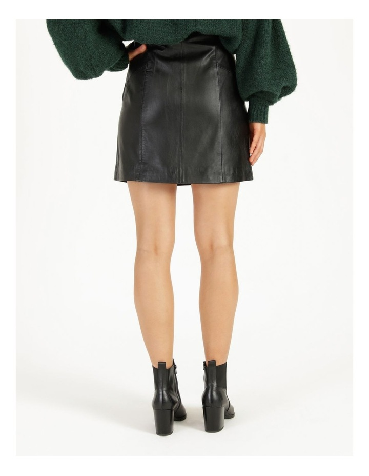 Trivial Leather Skirt image 5