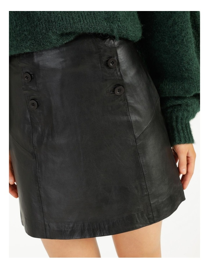 Trivial Leather Skirt image 6