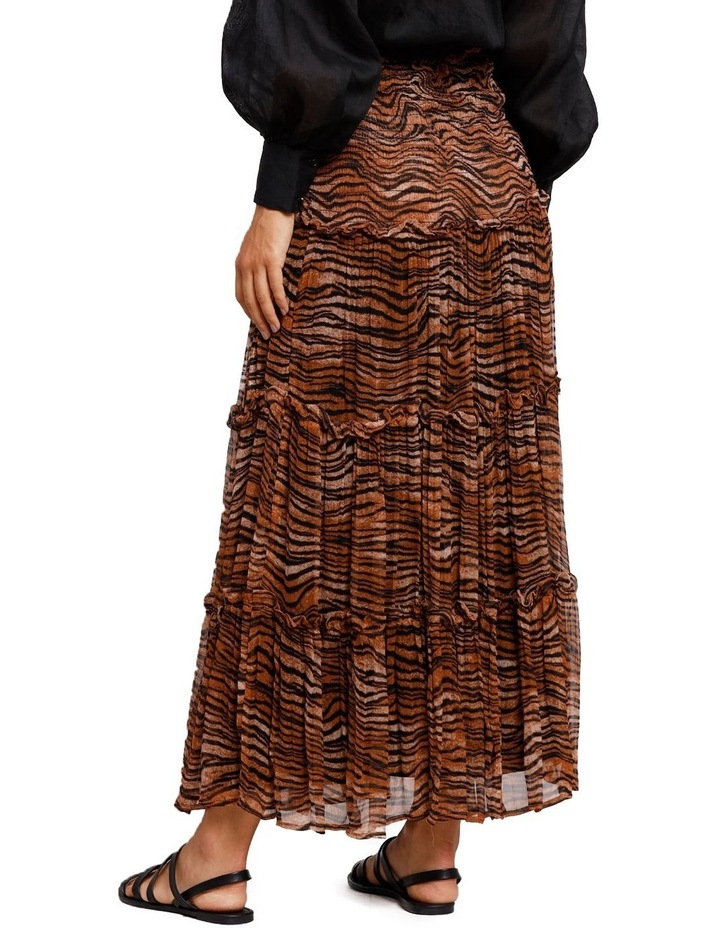 Tigress Smocked Maxi Skirt image 3