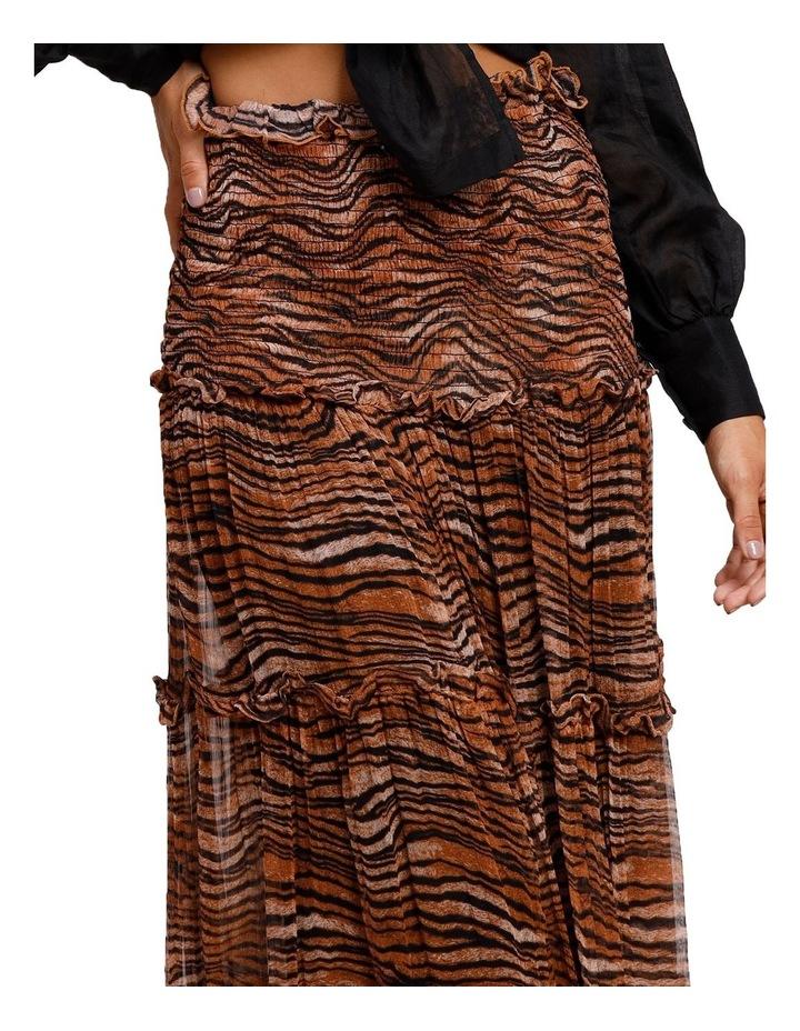 Tigress Smocked Maxi Skirt image 4