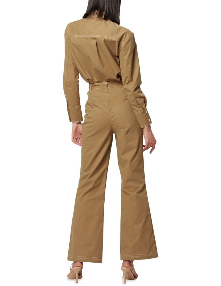 All Eyes On You Camel Flare Pants image 4