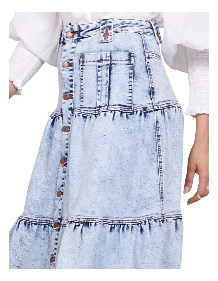 Ryder Denim Midi Skirt image 4