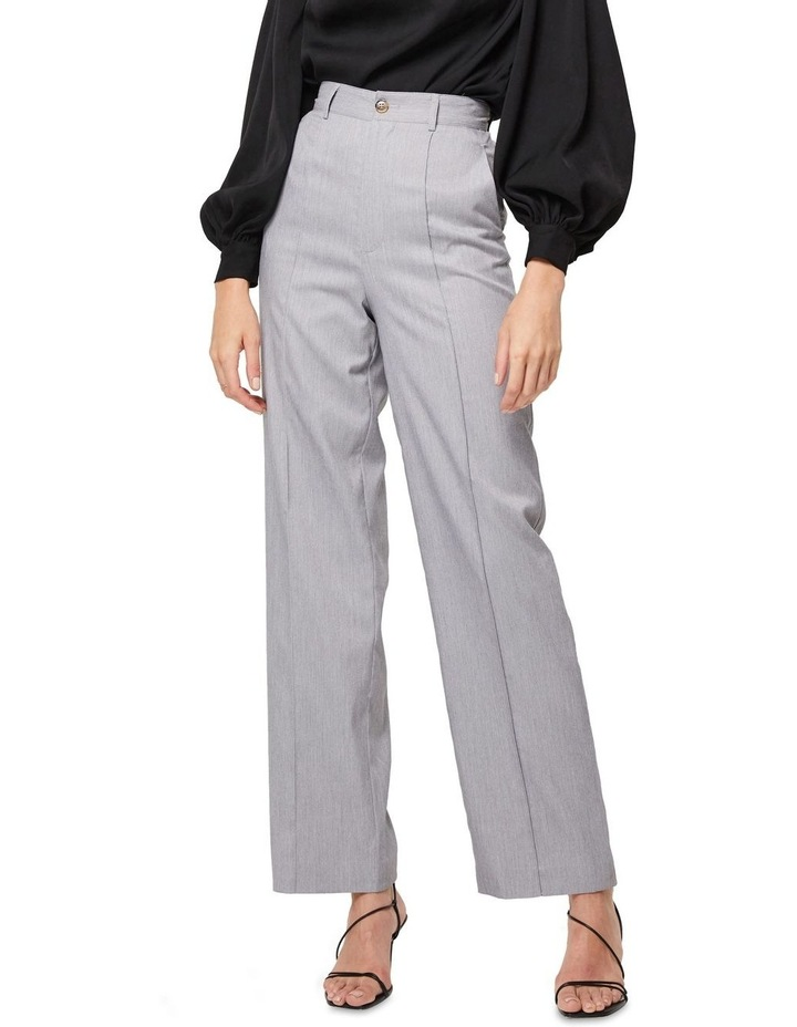 The Empower Me Grey Straight Leg Pants image 4