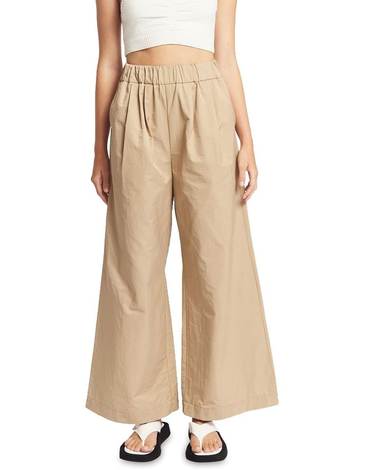 Lou Ruched Cotton Pants image 1