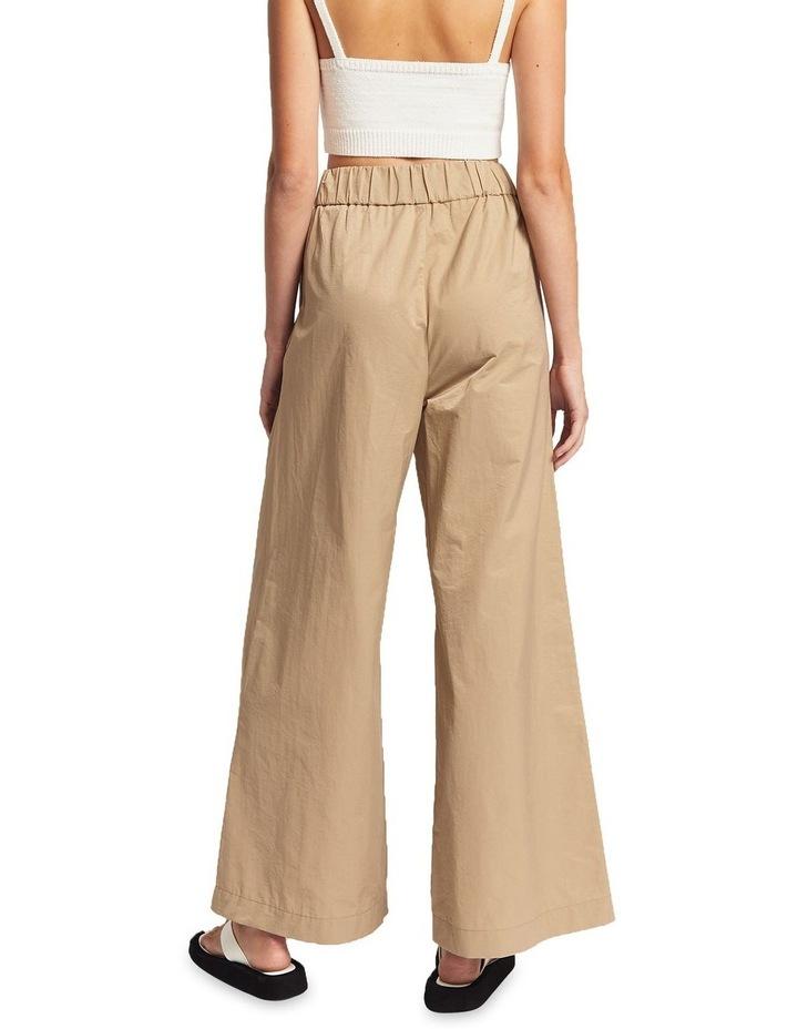 Lou Ruched Cotton Pants image 2
