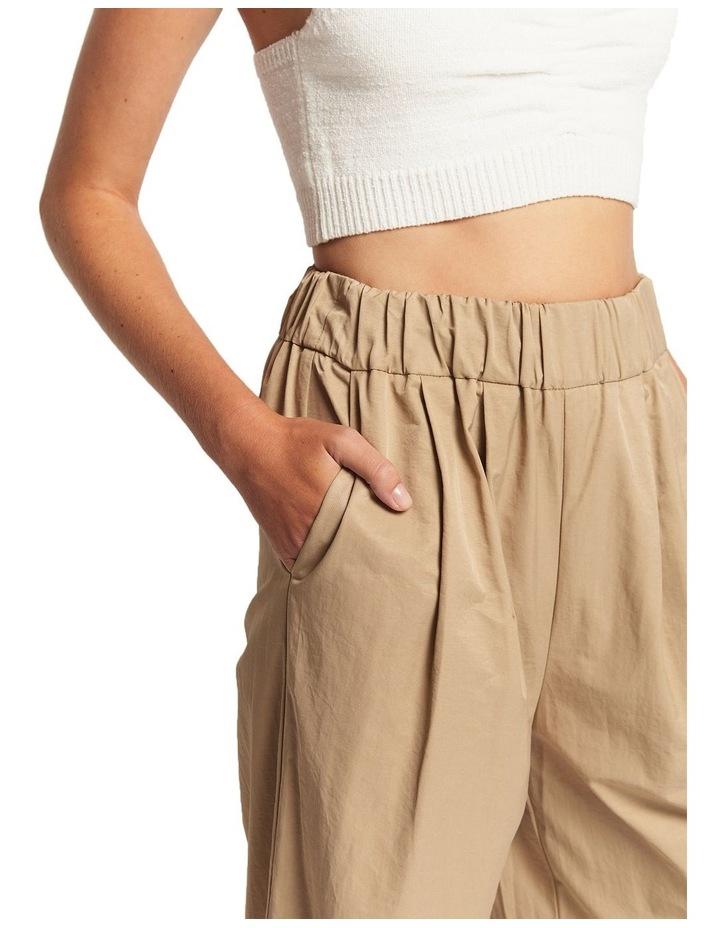 Lou Ruched Cotton Pants image 3