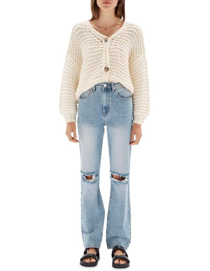 Muse Vintage Blue Cotton Distressed  Jean image 1