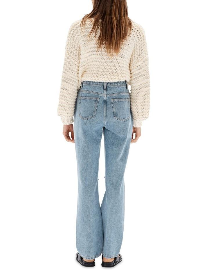 Muse Vintage Blue Cotton Distressed  Jean image 3