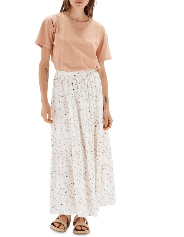 Terrazzo Multicoloured Maxi Skirt image 1