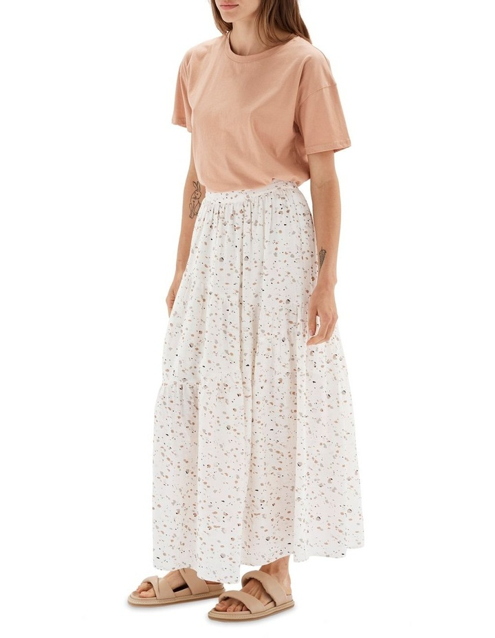 Terrazzo Multicoloured Maxi Skirt image 3