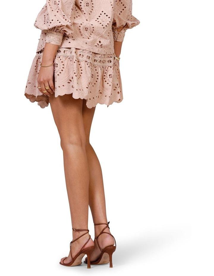 Nouveau Embroidery Mini Skirt image 2