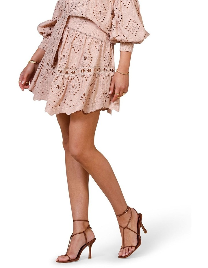 Nouveau Embroidery Mini Skirt image 3