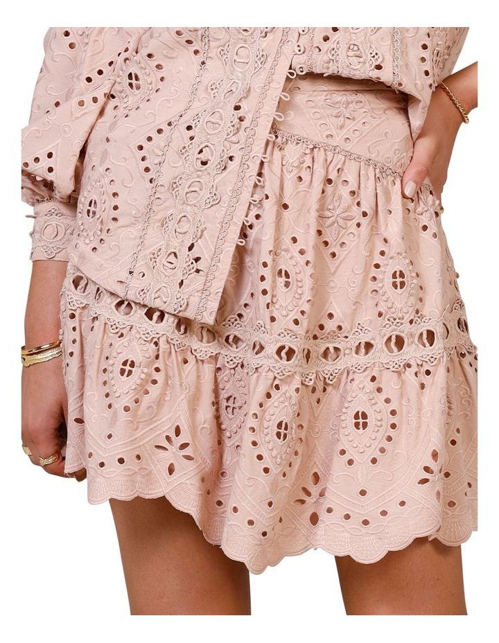 Nouveau Embroidery Mini Skirt image 4