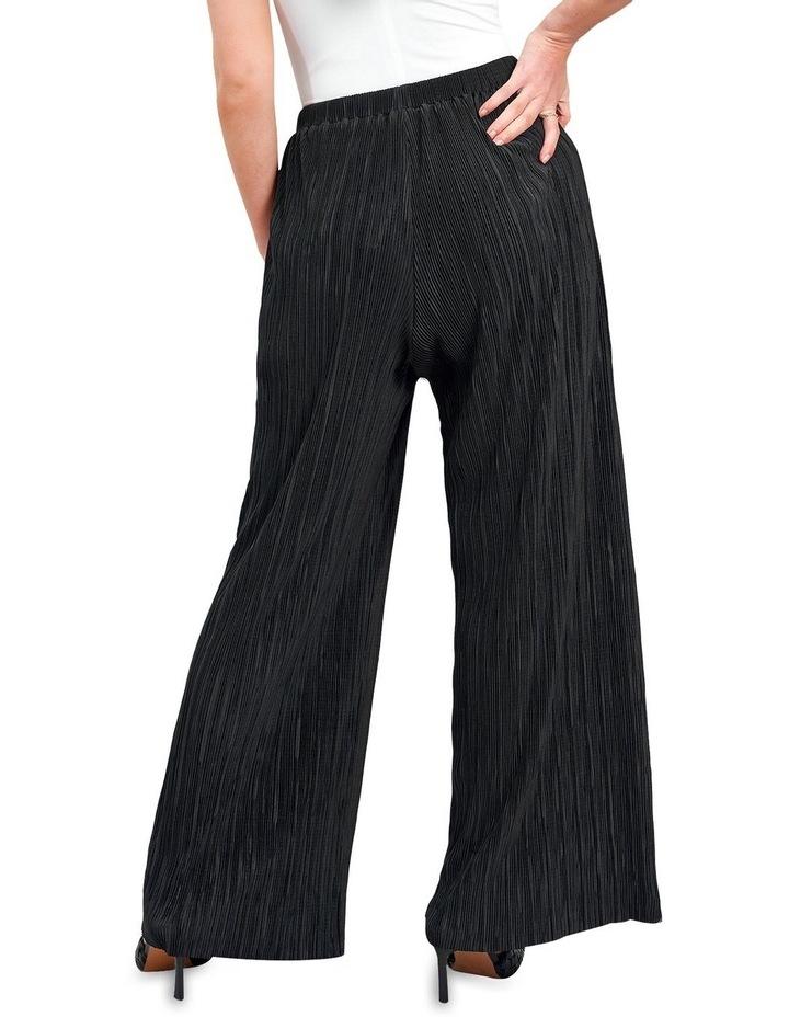 Plisse Trouser Black image 2