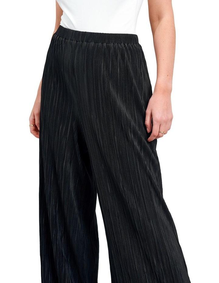 Plisse Trouser Black image 3