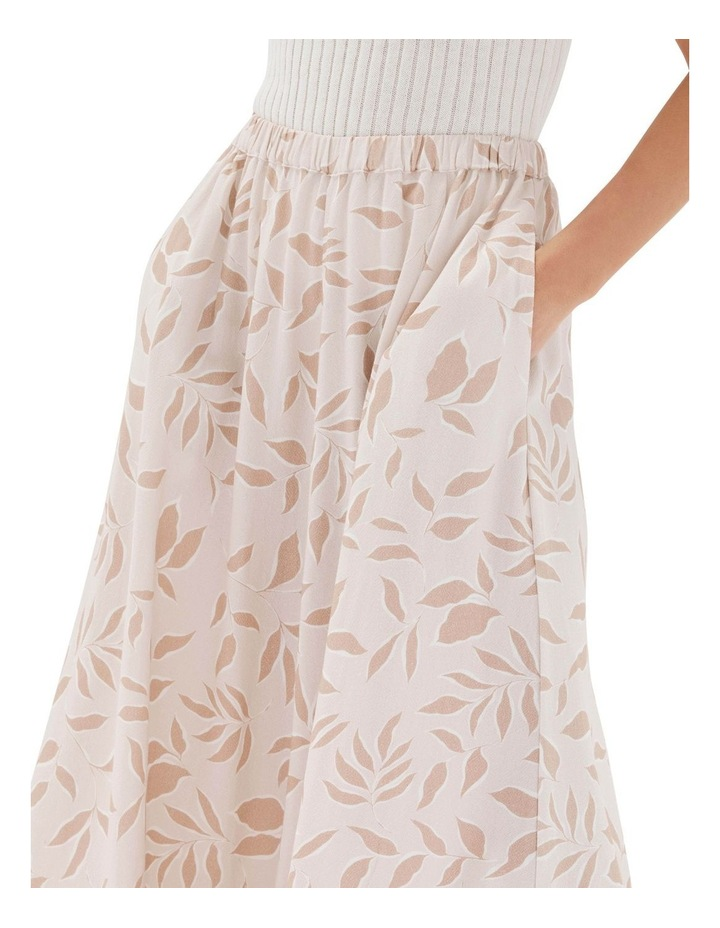 Anais Midi Skirt Nude image 4