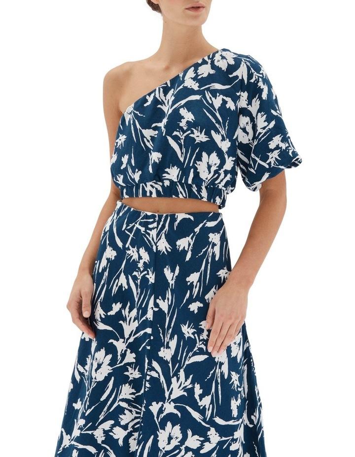 Alma Bias Midi Skirt image 4