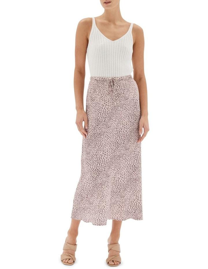 Hannah Bias Midi Skirt Nude image 1