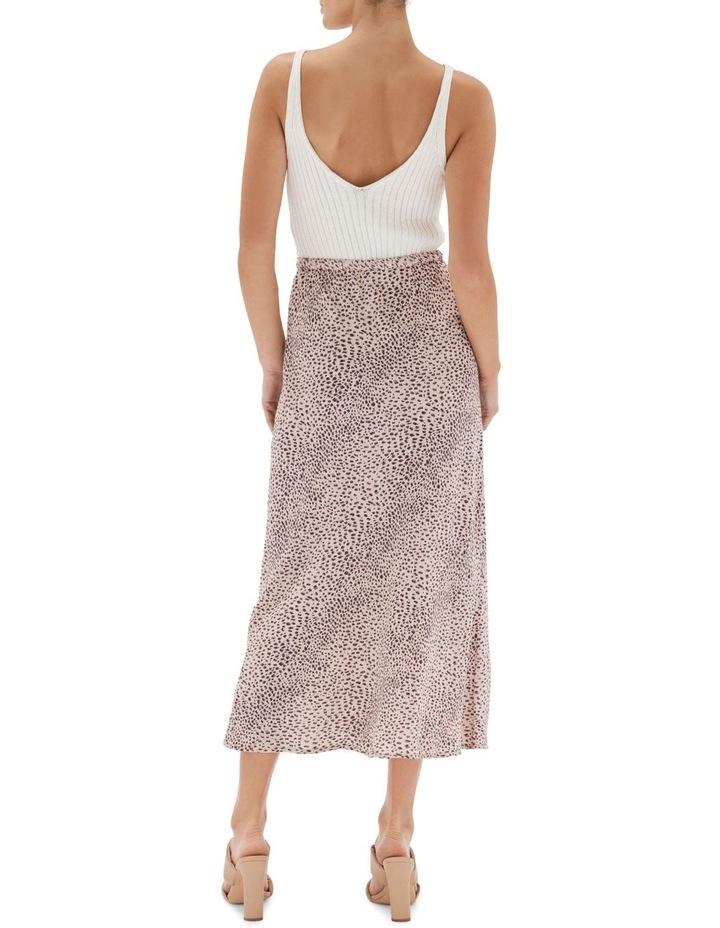 Hannah Bias Midi Skirt Nude image 2