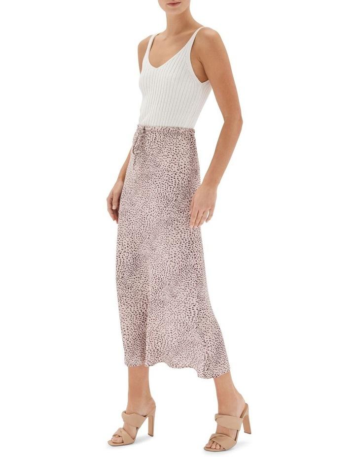 Hannah Bias Midi Skirt Nude image 3