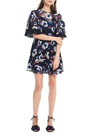 Talulah - Estee Multi Lace Mini Dress