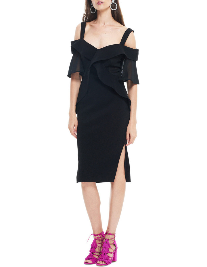 Staccato Contrast Bodycon image 1