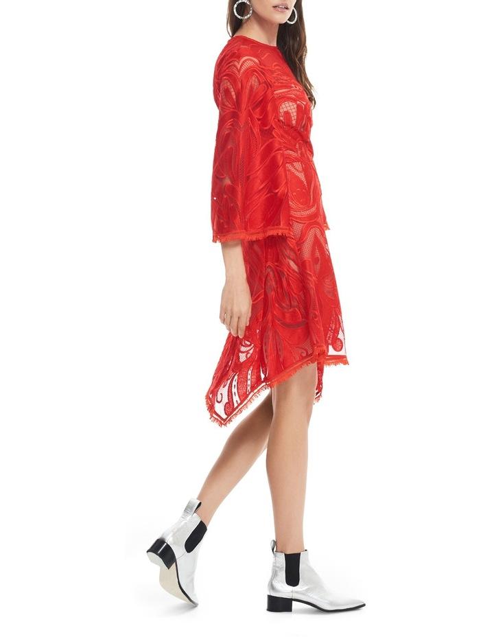 Carnation Flared Sleeve Mini Dress image 2