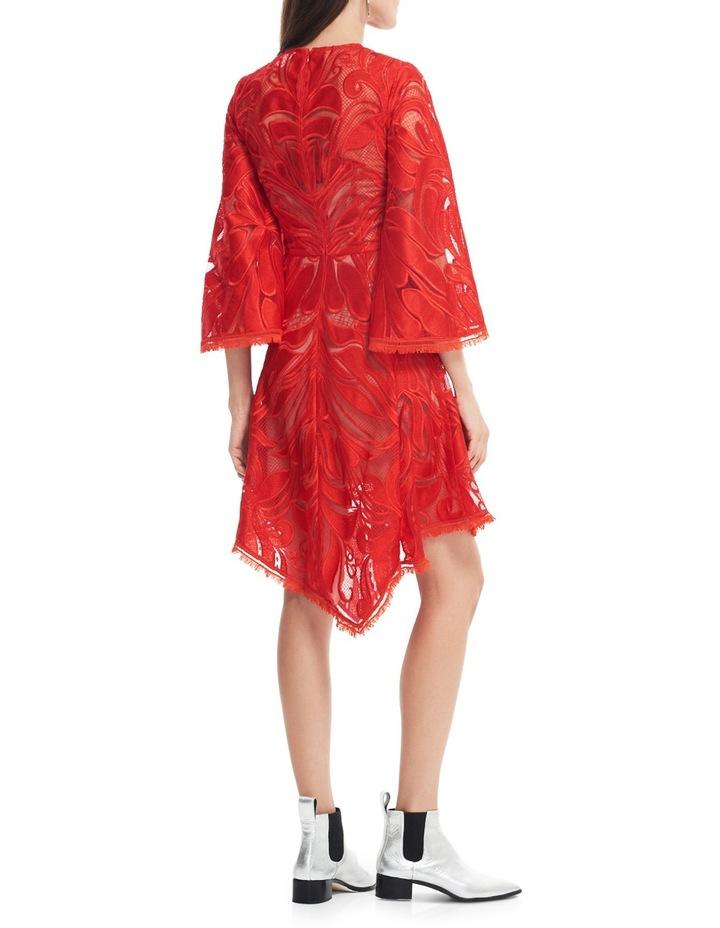 Carnation Flared Sleeve Mini Dress image 3