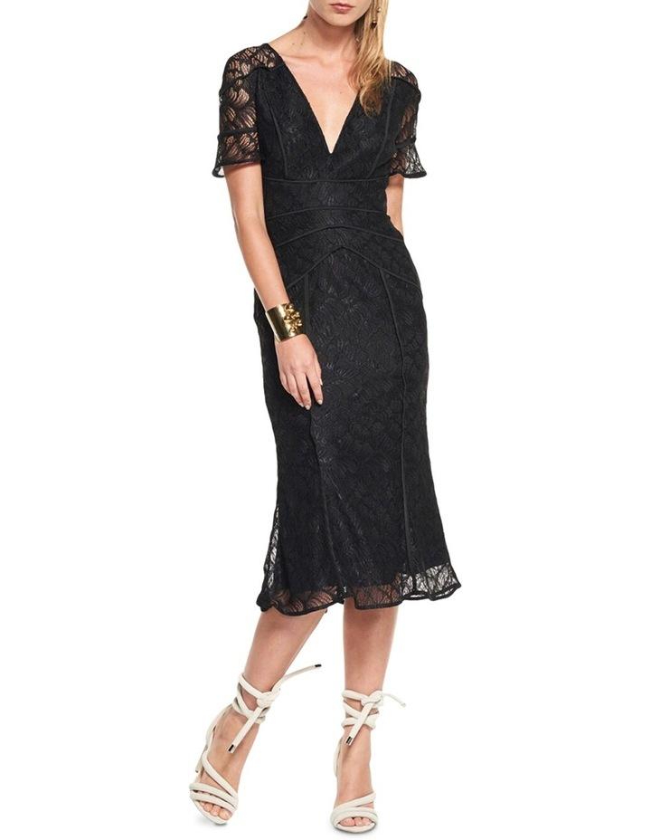 Rococo Lace Midi Dress image 1