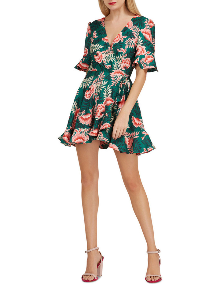 Songbird wrap dress image 1