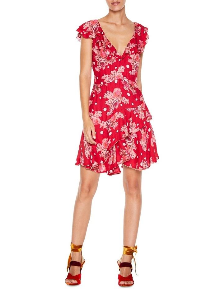 Florence Ruffle Mini Dress image 1