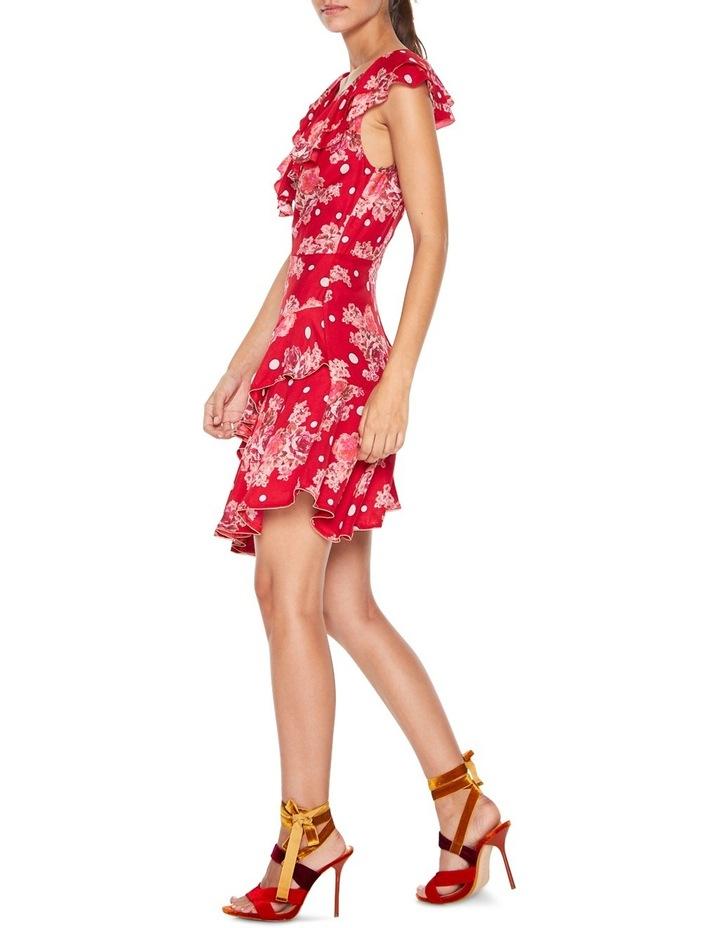 Florence Ruffle Mini Dress image 2