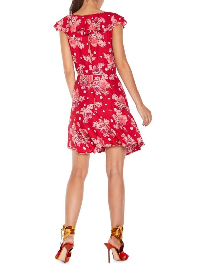 Florence Ruffle Mini Dress image 3
