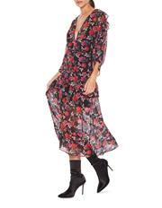 Jet Rose Midi Dress