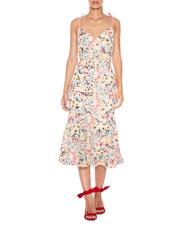 Bittersweet Flounce Midi Dress