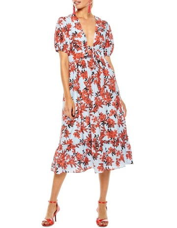Talulah Red Sea Midi Dress e2ec06f99