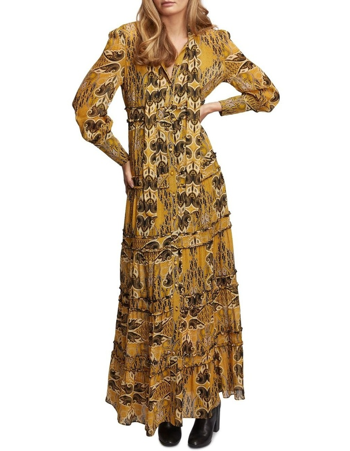 Gold Light Maxi Dress image 1