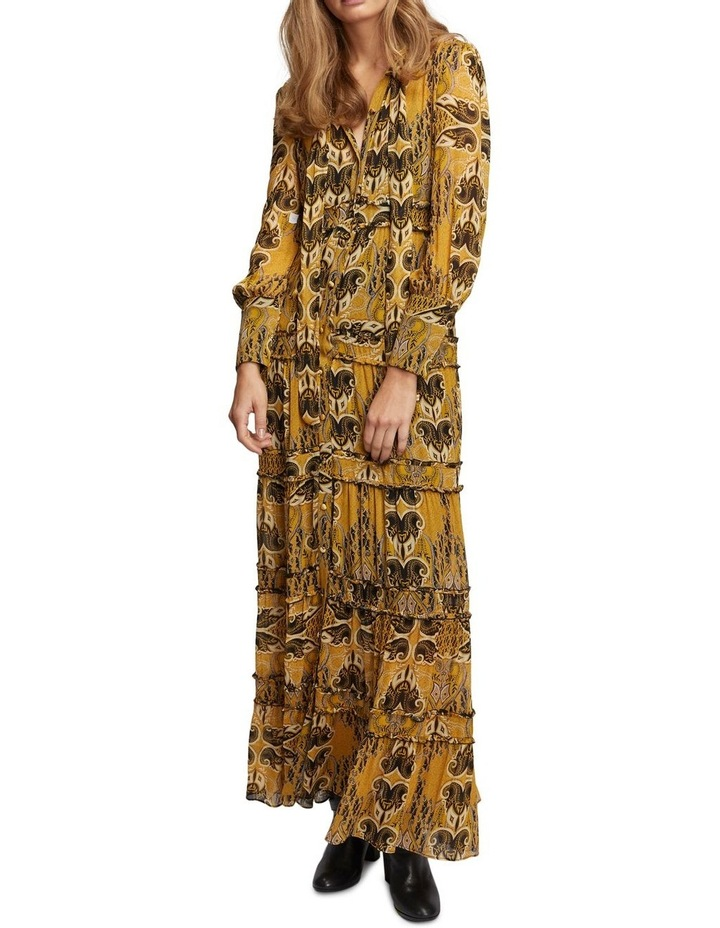 Gold Light Maxi Dress image 2