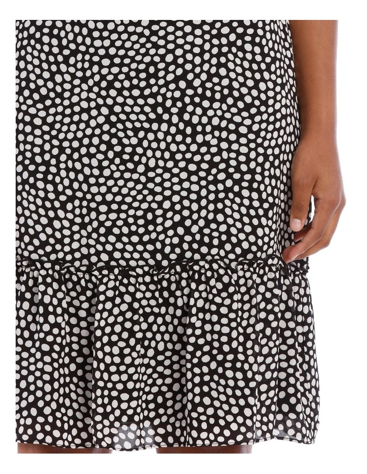 Sleevless Knot Neck Dress image 4