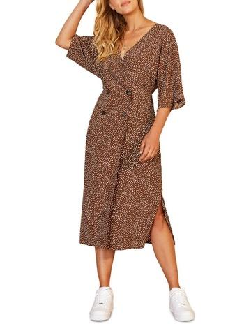 1e5fc80853f Staple The Label Verse Wrap Midi Dress