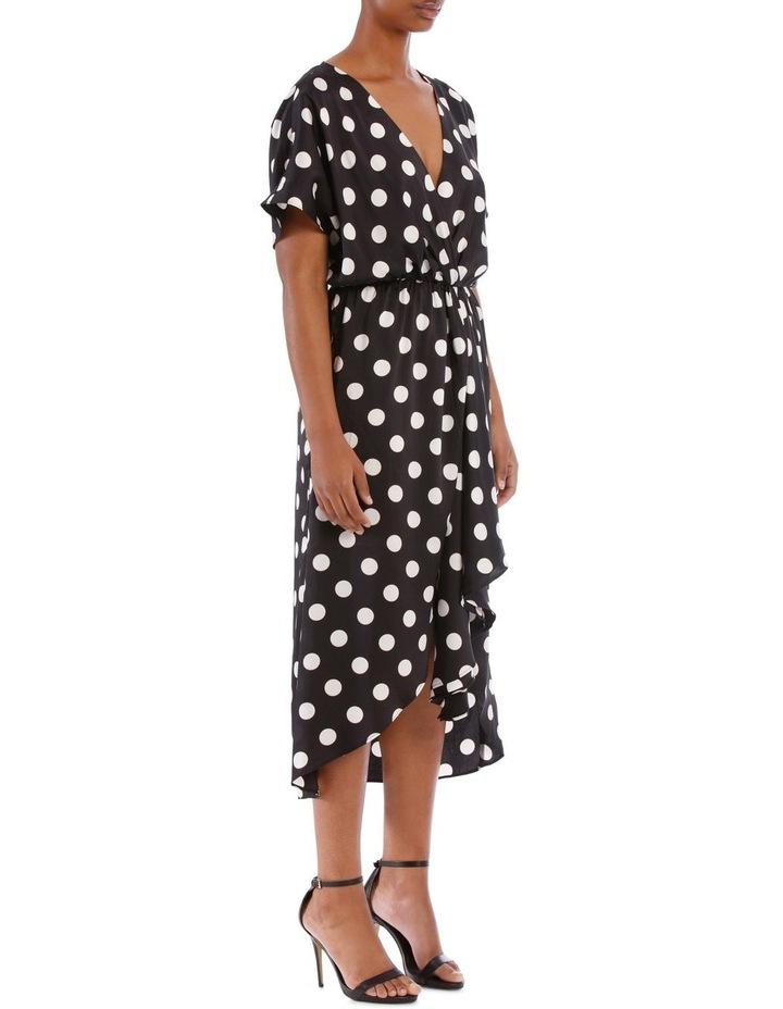 Olivia Wrap Midi Dress image 2