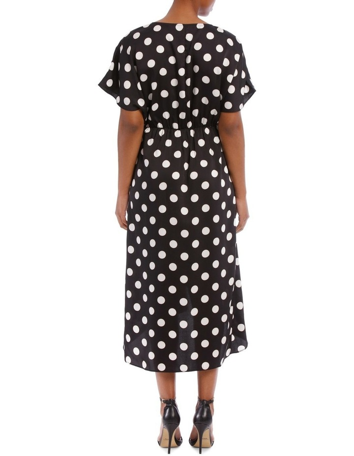 Olivia Wrap Midi Dress image 3