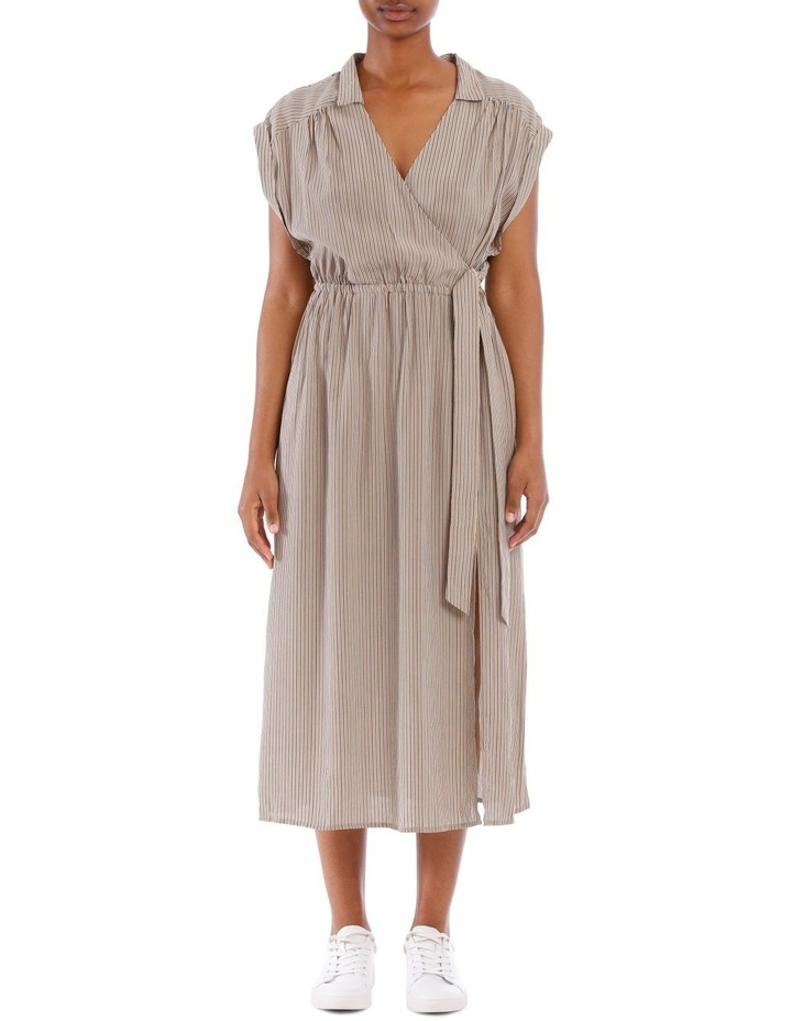Gaia Wrap Midi Dress image 1