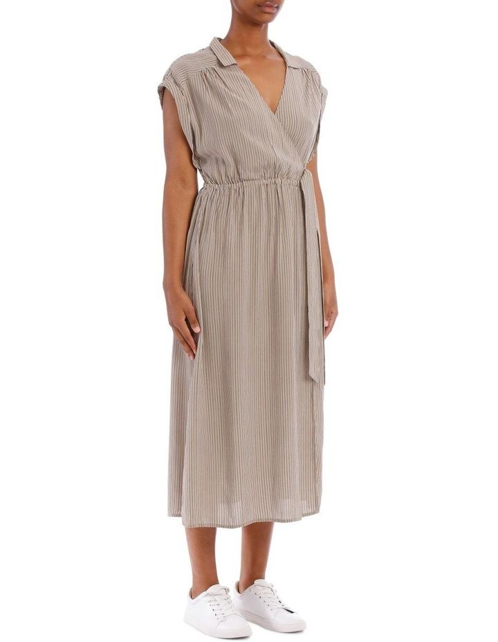 Gaia Wrap Midi Dress image 2